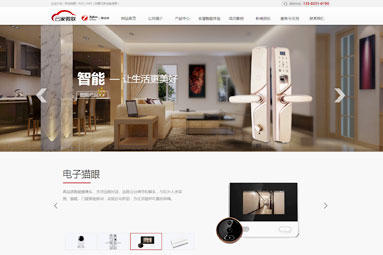 苏州云家微联物联网 门户网站建设