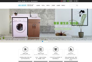 上海信淘实业 网站制作